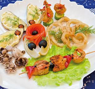 Fisch & Fleisch in Harmonie